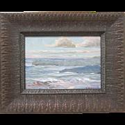 T.E. Craig Original California Plein Air Seascape Contemporary Painting