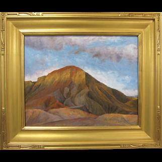 George Rawson Original Plein Air Impressionist Green River Utah Oil Painting