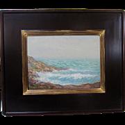 Howard Spencer Original New York Marine Coastal Impressionist Seascape Oil Painting