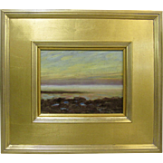 Howard Spencer Original New York Sunrise Marine Coastal Impressionist Seascape Oil Painting