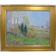 John Modesitt Original California Plein Air Oil Painting Backcountry Landscape