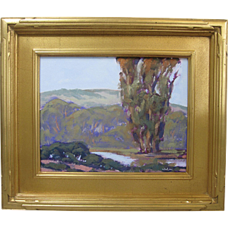 Kevin Yuen California Plein Air Original Landscape Oil Painting
