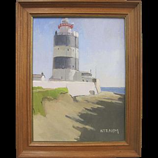 Paul Strahm Hook Head Lighthouse Ireland Seascape Listed Artist