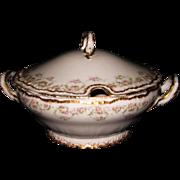 Theodore Haviland Limoges France Large Soup Tureen ~ Schleiger #844 ~ Excellent