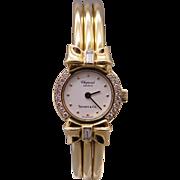 Exceptional Tiffany & Co Chopard Happy Diamonds 18k Yellow Gold Diamond Bracelet Watch