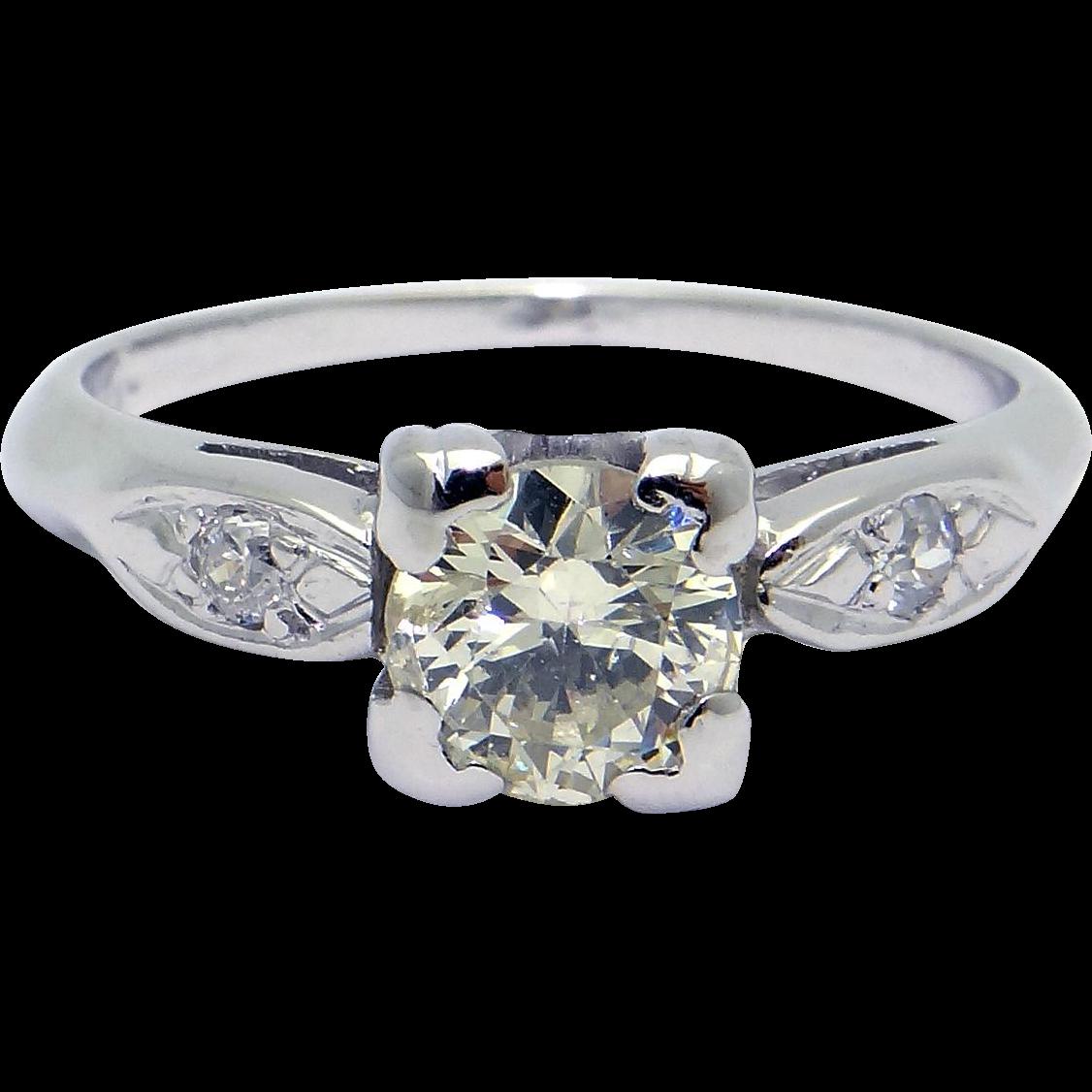 platinum 70ct cut engagement promise ring