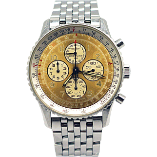 Rare Breitling Navitimer 1884 Stainless Steel Automatic Chronograph Watch A33030