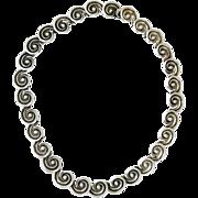 Los Castillo Sterling Silver Necklace