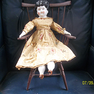 Great Vintage Chair for Your Large Doll