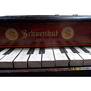 Antique Schoenhut Baby Grand Piano