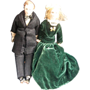 President Franklin Pierce and His Wife Jane