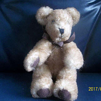 A Wonderful Old Fuzzy Jointed Teddy Bear
