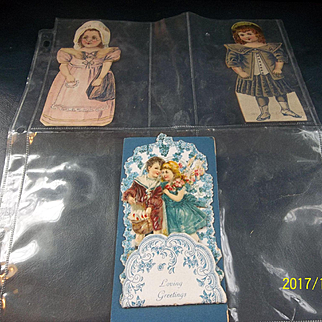 Advertising Cards and Valentine Card