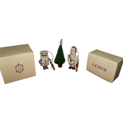 Lenox Nutcracker Christmas Ornaments
