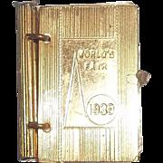 A Wonderful Gold Tone Doll Book 1939