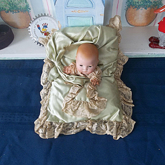AM Dream Baby Tucked in Her Wonderful Pillow