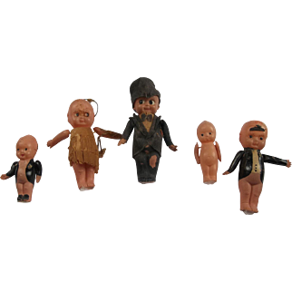 A Great Group of Celluloid Kewpies