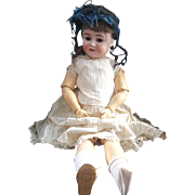 Beautiful Large Handwerck Halbig Doll 28 Inch