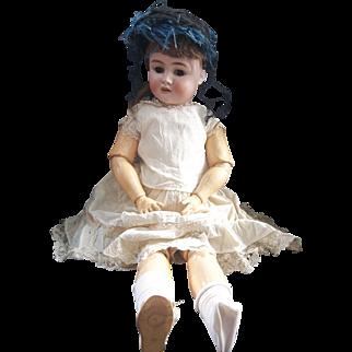 Beautiful Large Handwerck Halbig Doll 28 Inch