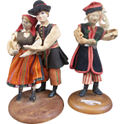 3 Older Polish Lalki Regionalne
