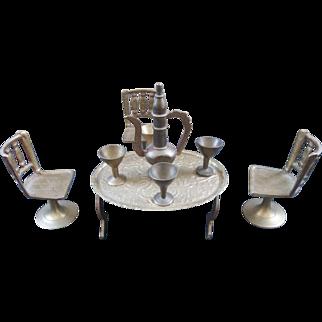 Doll House Brass Set