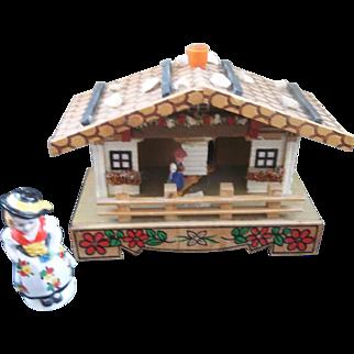 Vintage German Weather Cottage  4x5