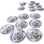 Set of Early 19th Century English Davenport Plates and More!