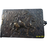 Antique Miniature Book French and Photos of Joan of Arc