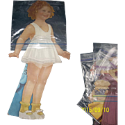 Old Shirley Temple Paper Doll