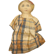 A Very Sweet 6.5 Inch Old Rag Doll