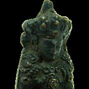 Antique Chinese Bronze Buddha Statue