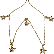 14kt Yellow Gold Jose Hess Star Necklace