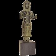 12th Century Bronze Deity, Cambodia