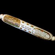 Antique Nautical Souvenir Blown Glass Rolling Pin