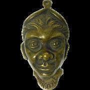 """Antique Bronze """"Gargoyle"""" Door Knocker"""