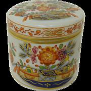 Antique Cross Sword Meissen Covered Jar