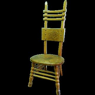 Quartered Oak American Arts & Crafts Side Chair