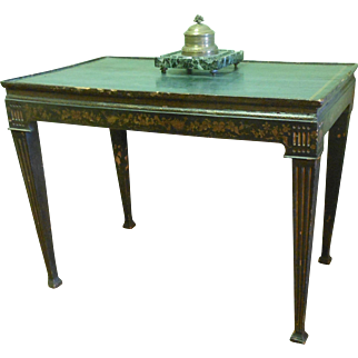 Decorated Italian Writing Table