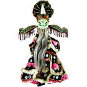 Antique Asian Opera Doll Early 20th Century