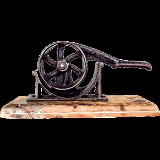 Antique Cast Iron No.1 Apothecary Drug Store Cork Sizer Press