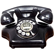 Rare Vintage Bakelite Art Deco Telephone Kelloggs Model 925 Ashtray Rotary Phone