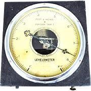 Vintage Brewery Scientific Levelometer Gauge
