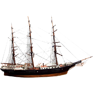 Antique 1886 Model Boston Ship New England (PICK UP ONLY)