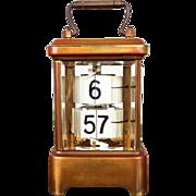 Antique 1903 Ansonia Rectangular Plato Clock