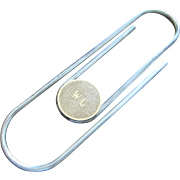 Katharine Hepburn Gifted Silver & Gold Paperclip The Thomae Company