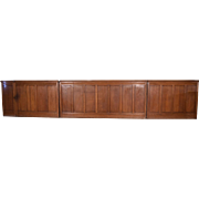 58 Feet of Antique French Boiserie/Paneling/Wainscoting in Solid Oak Wood