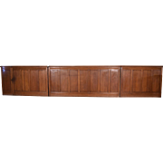 30 Feet of Antique French Boiserie/Paneling/Wainscoting in Solid Oak Wood