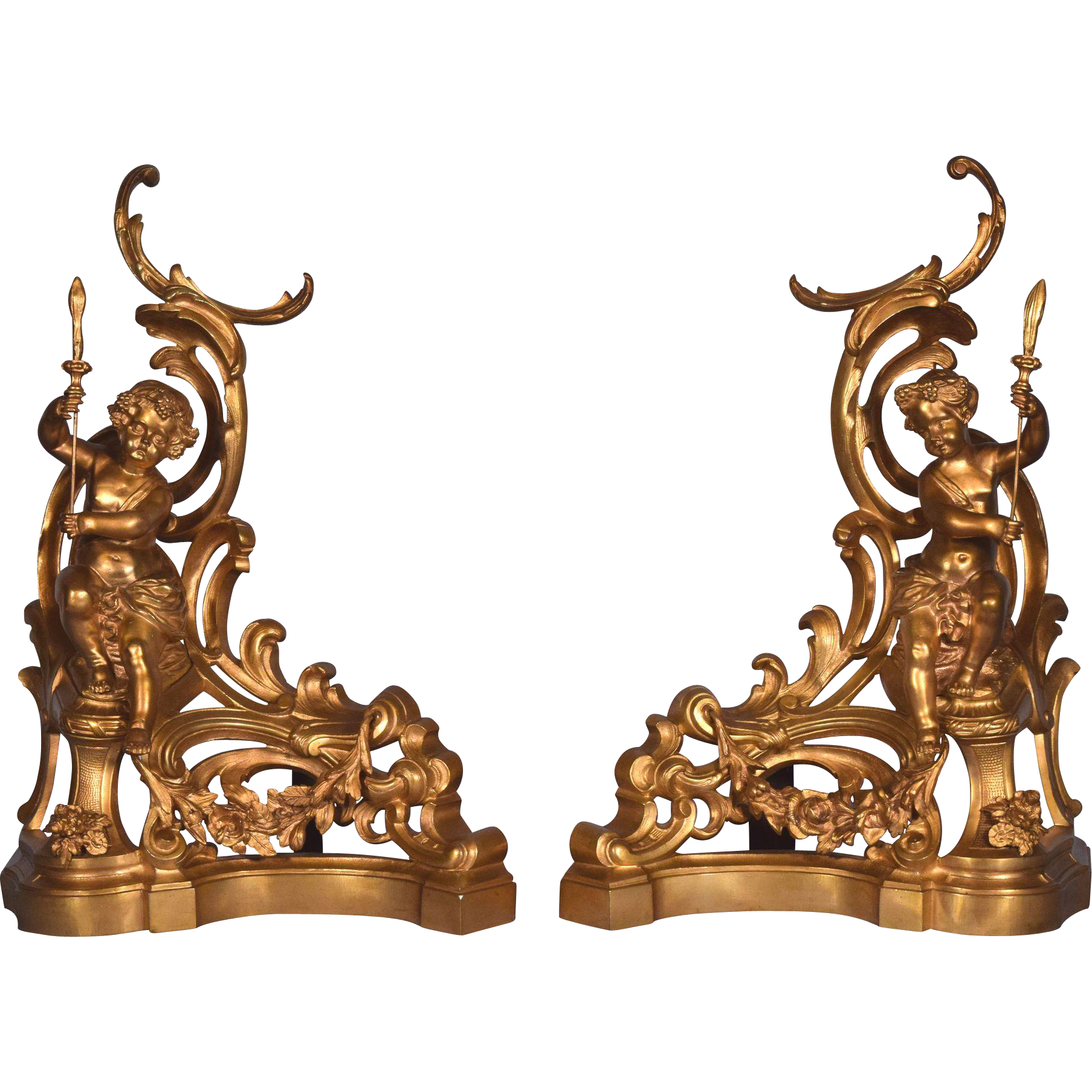 fireplace andirons for sale fire