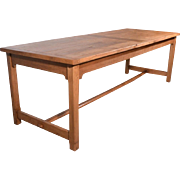 Vintage French Farm Table Country Provincial Harvest Table Desk