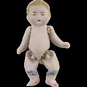 German Bisque Miniature Baby Doll